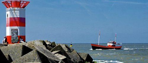 Pier bij Scheveningen - Haven