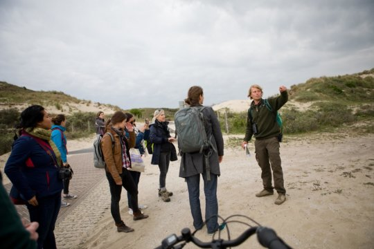 Internationale pers beleeft Nationaal Park Hollandse Duinen